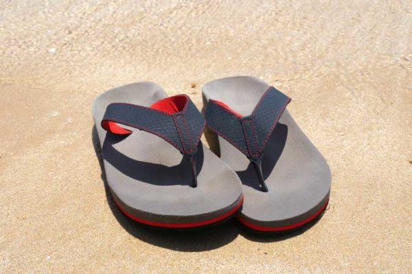 orthopädische Flip-Flops