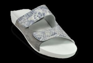 weiße Sandale