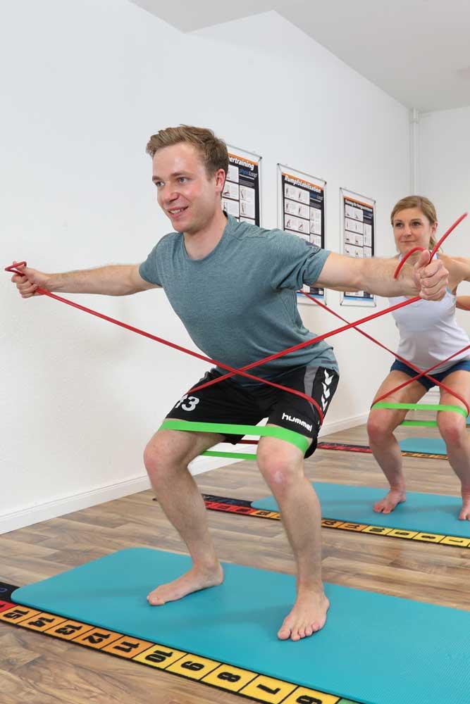 Trainingseinheit zur Laufanalyse