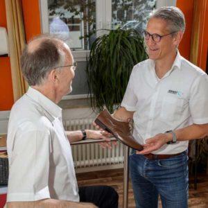 Verkauf des orthopädischen Maßschuhs