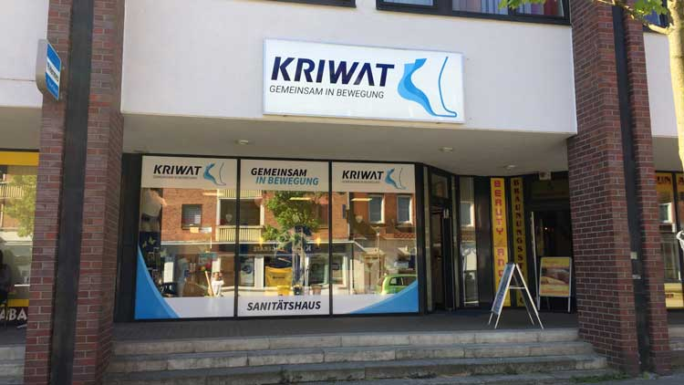 Sanitaetsfachgeschäft in Kiel, Wellingdorf