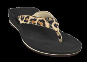 Flip-Flop mit Leopardenmuster