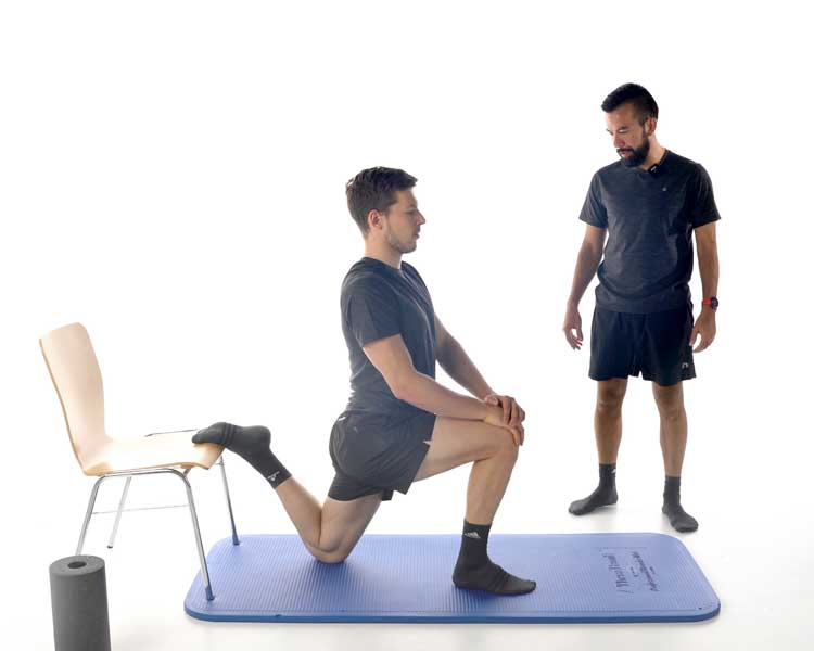 Trainingsübungen für Patellasehnenbeschwerden